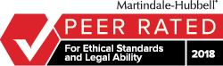 Peer Rated by Martindale-Hubbell