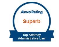 Avvo Rating Top Attorney Administrative Law